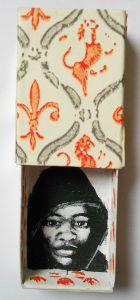 Boîte d'allumettes, acrylique